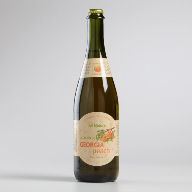 Georgia Peach California Sparkling Juice