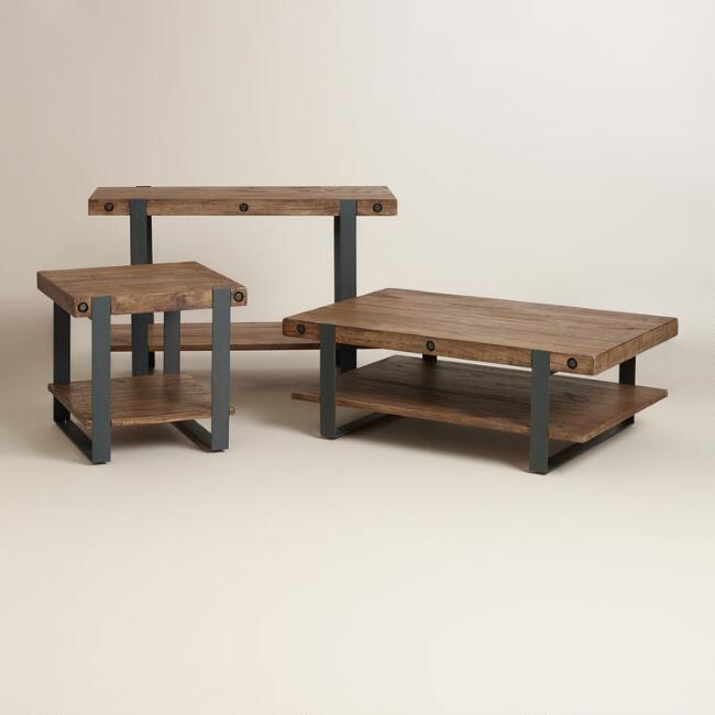 Rustic Skylar Occasional Table Collection