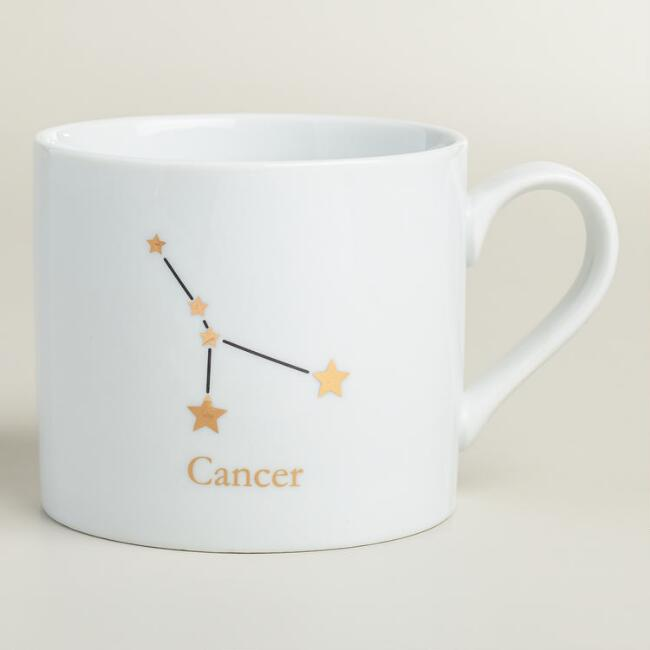 Porcelain Cancer Mug
