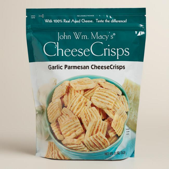 Macy's Garlic Parmesan Cheese Crisps