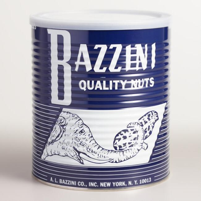 Bazzini Salted In-Shell Peanuts Tin