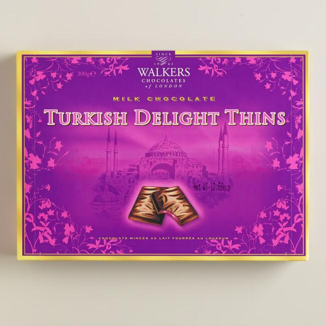 Walkers Chocolates of London Turkish Delight Thins