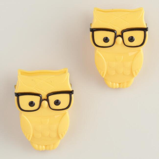 Nerd Bird Clips, 2-Pack