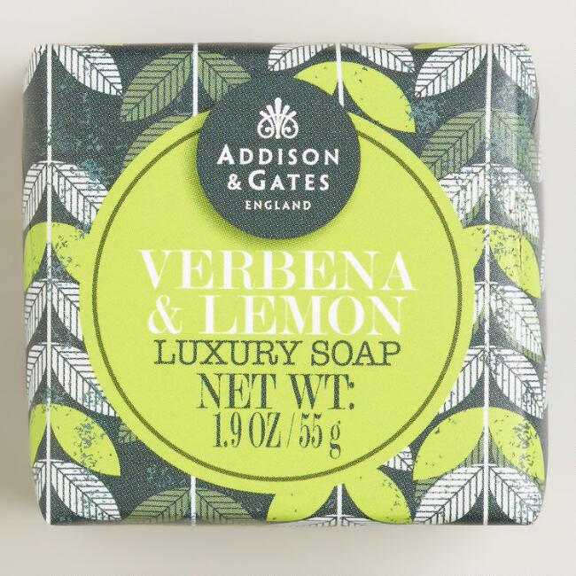 A&G Mini Verbena & Lemon Soap, Set of 4