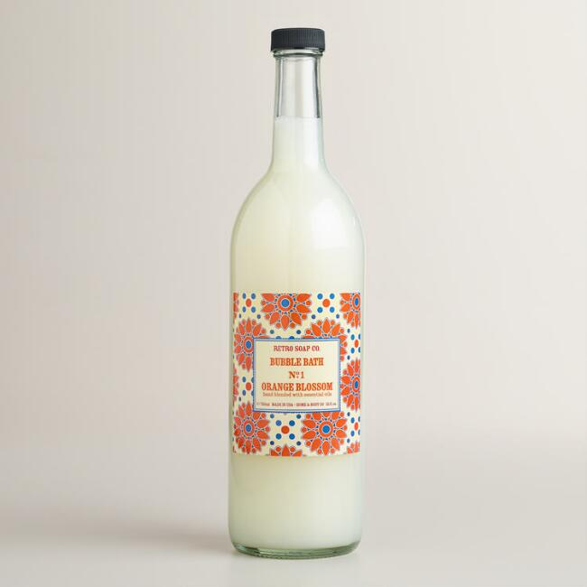 Retro Soap Co. Orange Blossom Bubble Bath