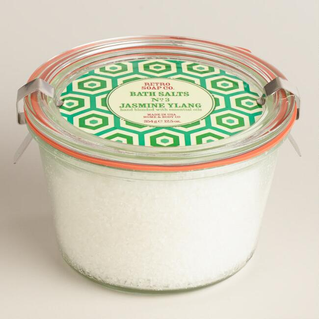 Retro Soap Co. Jasmine Ylang Bath Salts