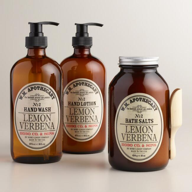 World Market® Lemon Verbena Bath and Body Collection