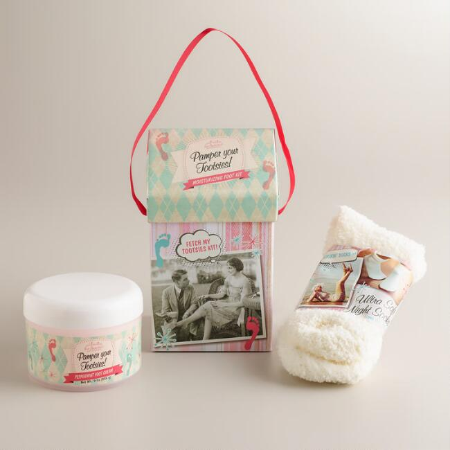 San Francisco Soap Co. Peppermint Foot Kit