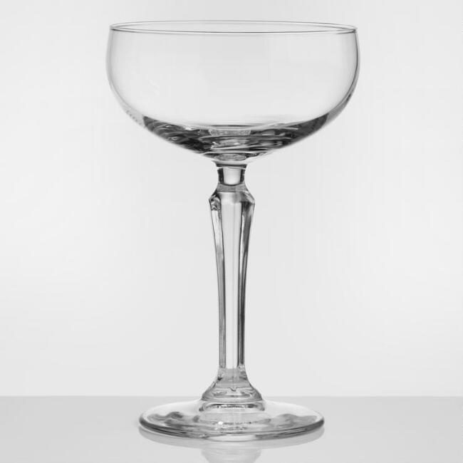 Speakeasy Champagne Glasses Set of 4