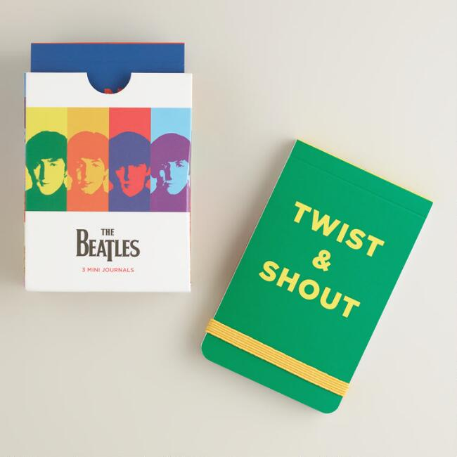 Beatles 50th Anniversary Mini Journals, Set of 3