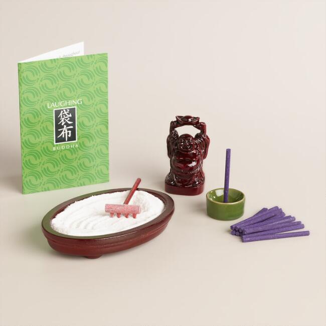 Ho-Tei Mini Zen Buddha Meditation Kit