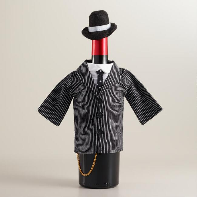 Zoot Suit Wine Bottle Outfit
