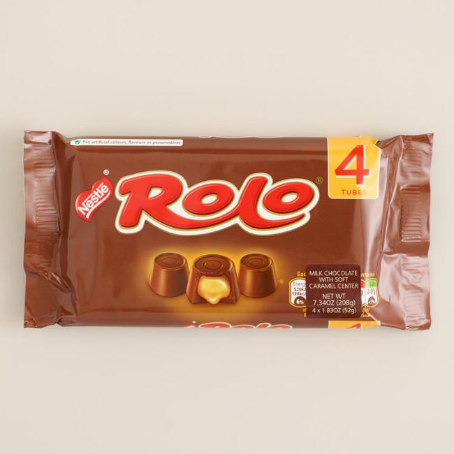 Nestle Rolo Candy, 4-Pack
