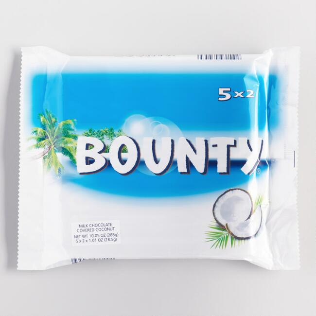 Nestle Bounty Candy, 5-Pack