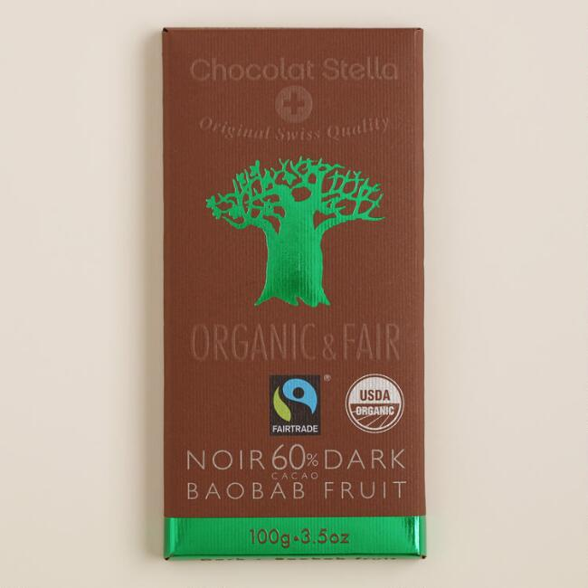Stella Bernrain Baobab Dark Chocolate Bar