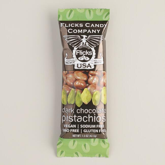 Flick's Dark Chocolate-Covered Pistachios