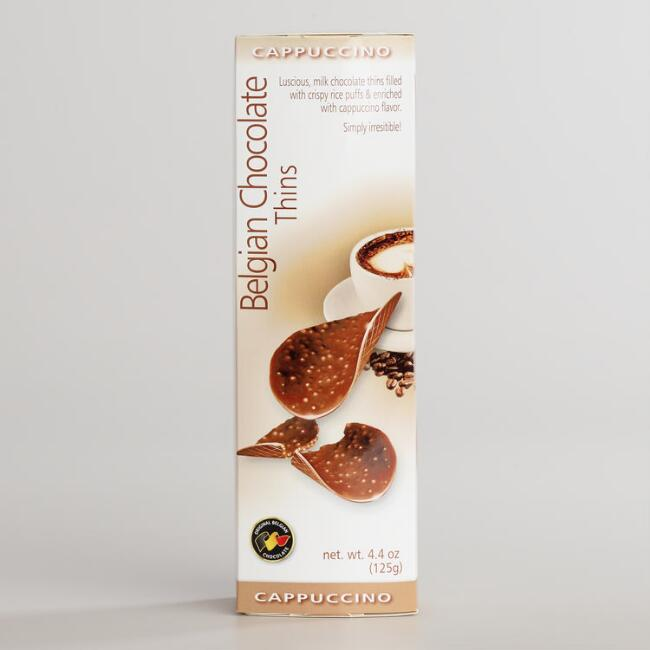 Belgian Chocolate Cappuccino Thins