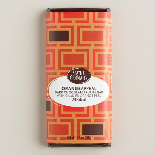 Seattle Chocolates Orange Appeal Truffle Bar
