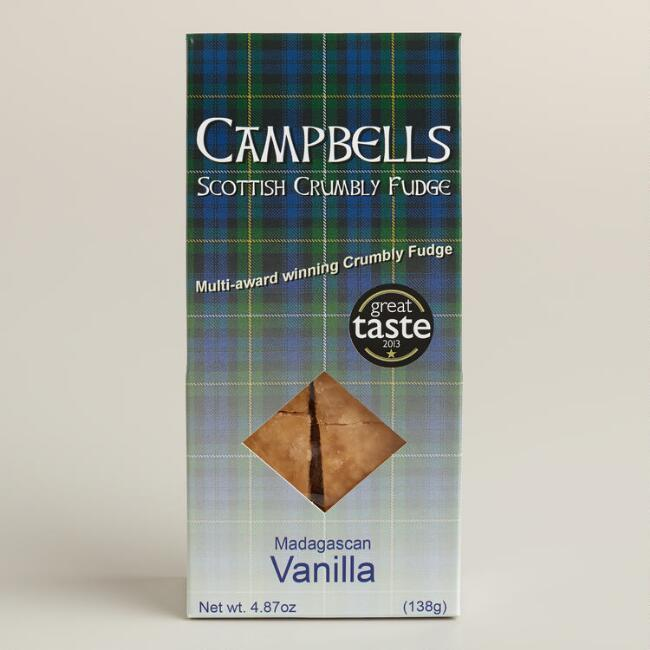 Campbells Vanilla Scottish Tablet Fudge