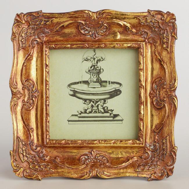 Gold Ornate Byrdie Frame