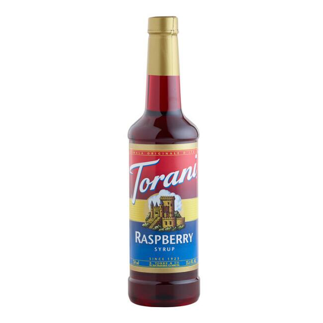 Torani Raspberry Syrup, Set of 4