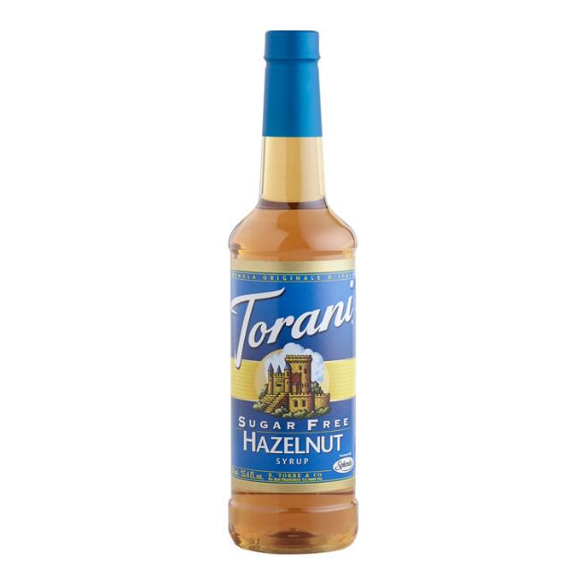 Sugar Free Torani Hazelnut Syrup, Set of 4