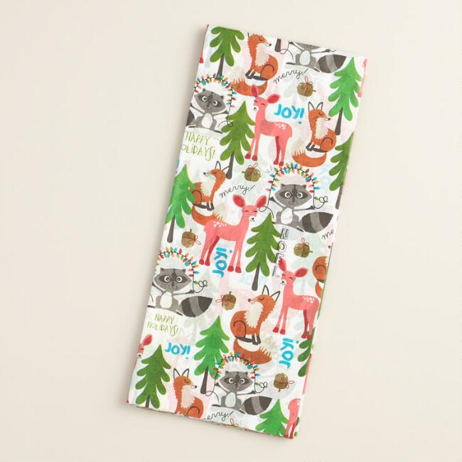Foxes and Deer Tissue Paper