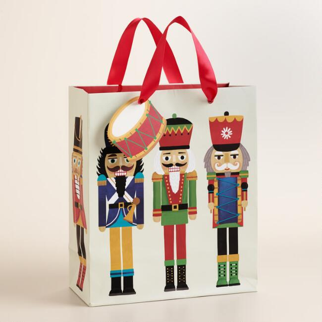 Medium Nutcrackers Gift Bag