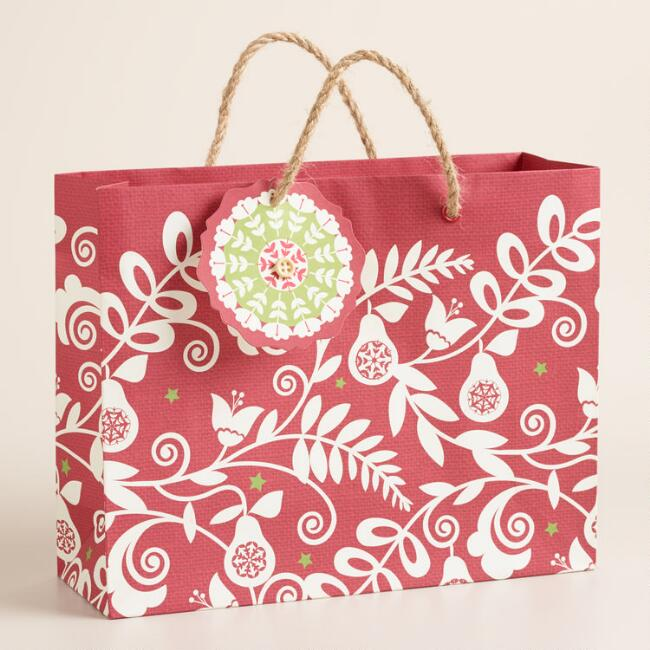 Medium Suzani Bird Gift Bag