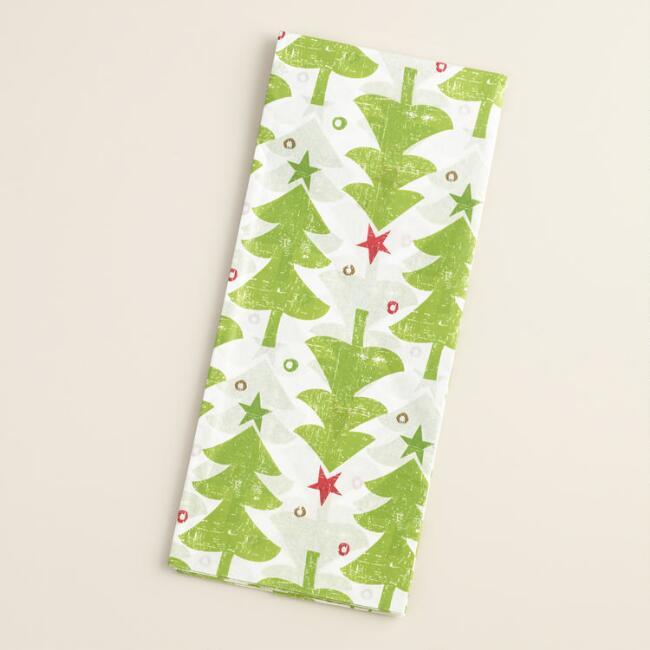 Scandi Trees Tissue Paper, 4-Count
