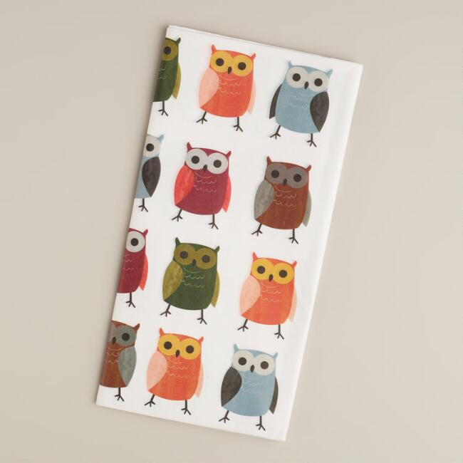 Woodland  Owls Tissue Paper