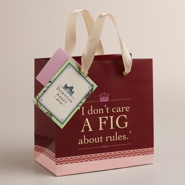 Small Downton Abbey Fig Gift Bag