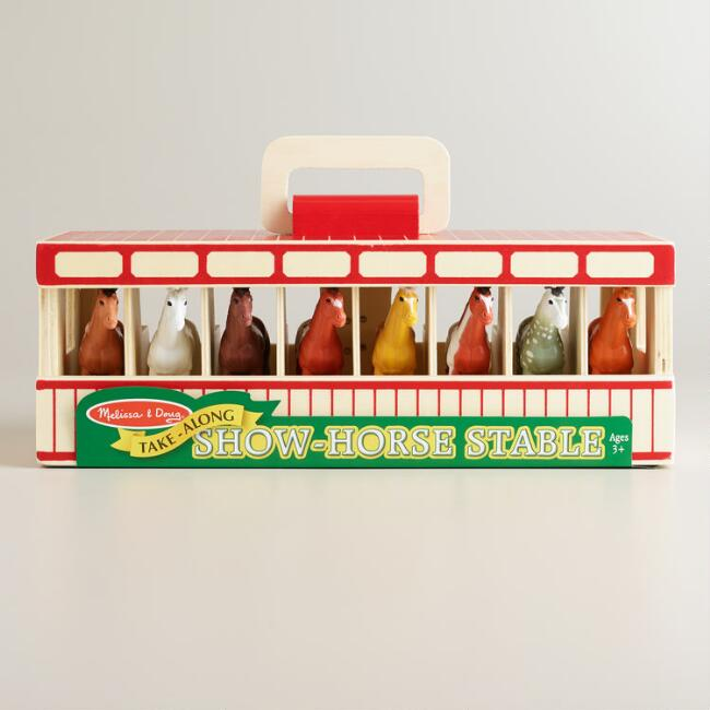 Melissa and Doug Show Horse Stable Play Set