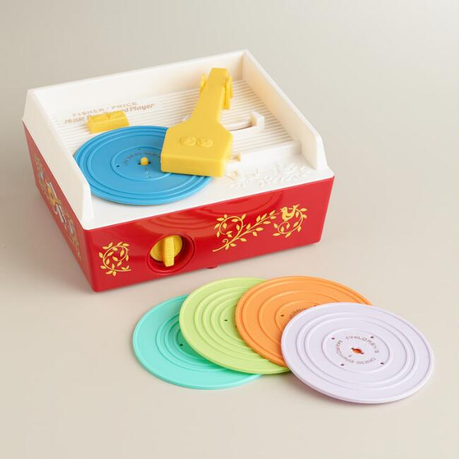 Fisher-Price Retro Music Box Record Player
