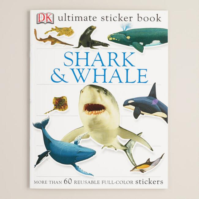 Sharks and Whales Ultimate Sticker Book