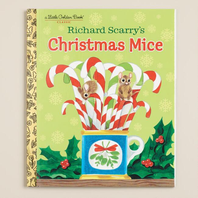 Richard Scarry's Christmas Mice, a Little Golden Book