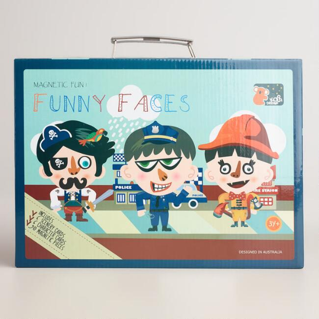 Funny Face Boy Magnetic Fun Kit
