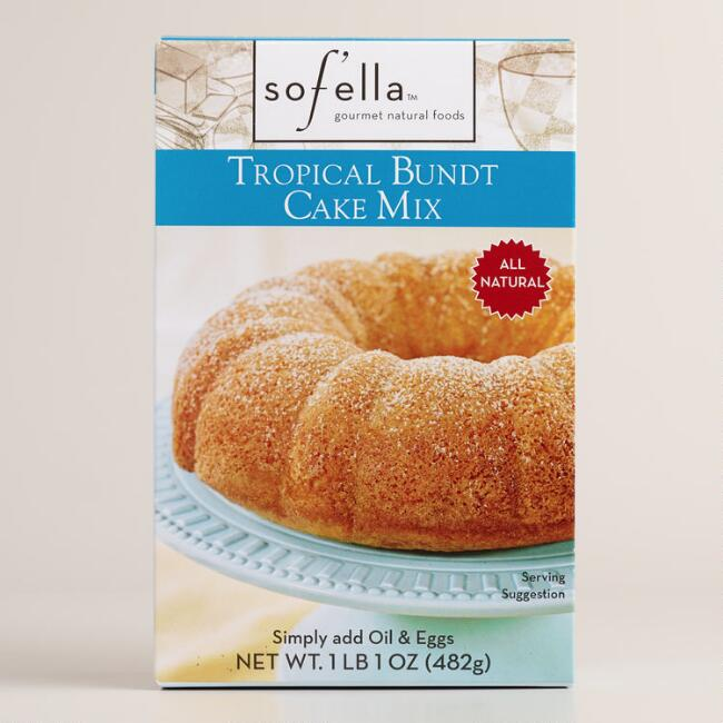 Sof'ella Tropical Bundt Cake, Set of 2