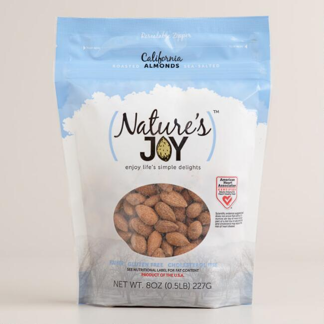 Nature's Joy Whole Roasted and Salted Almonds