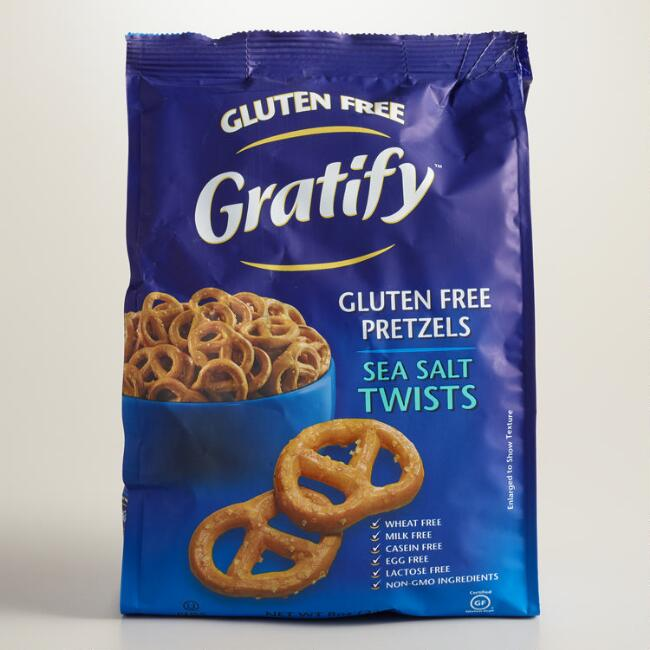 Gratify Gluten-Free Sea Salt Pretzel Twists