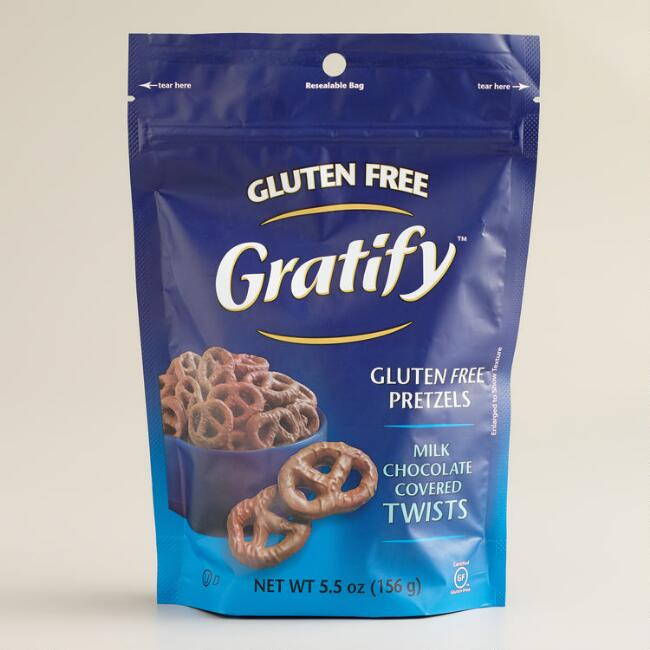 Gratify Gluten-Free Milk Chocolate Pretzel Twists