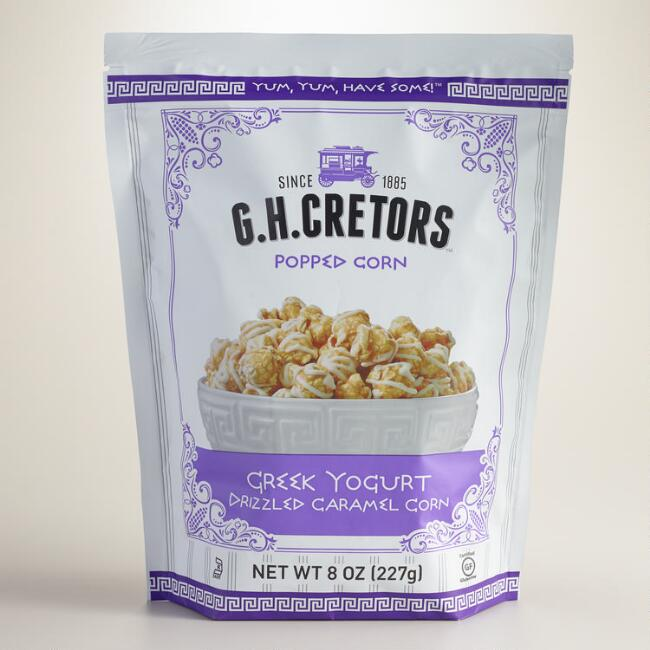 G.H. Cretors Greek Yogurt Drizzled Caramel Corn