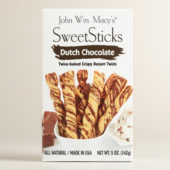 John Wm. Macy's Dutch Chocolate Sweet Sticks