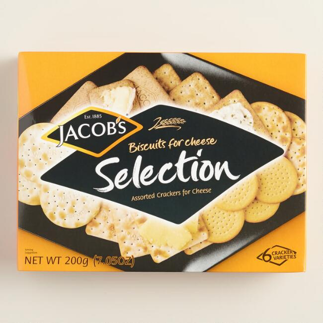 Jacob's Biscuits for Cheese