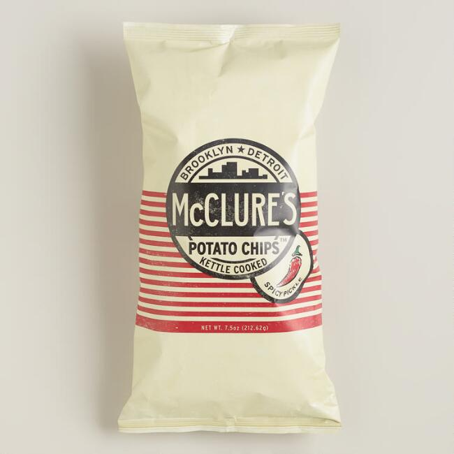 McClure Spicy Pickle Kettle Potato Chips