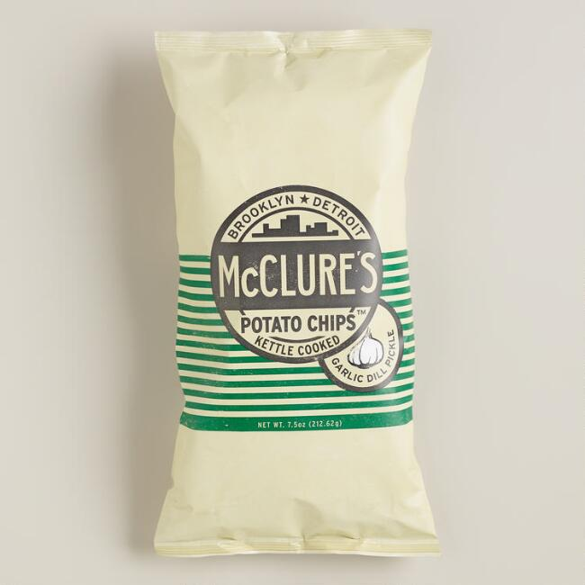 McClure Garlic Dill Kettle Potato Chips