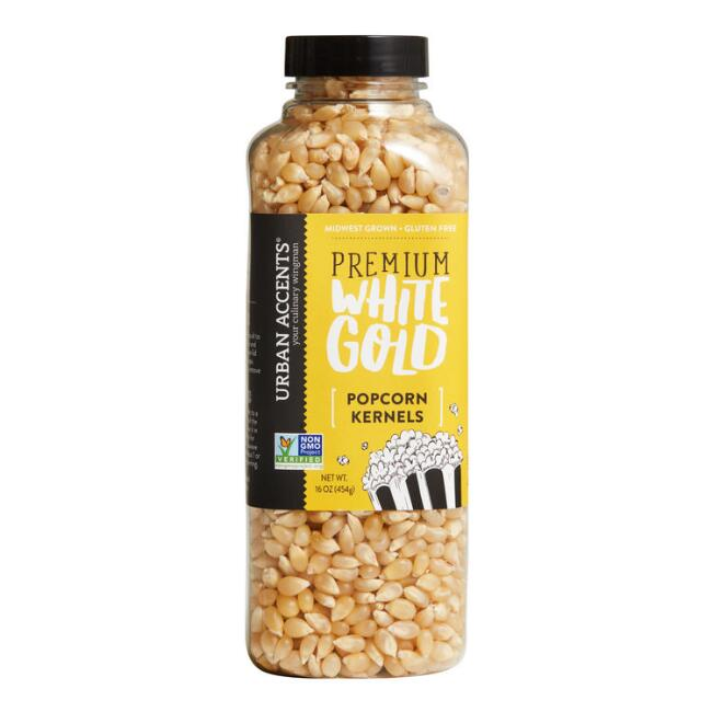 Urban Accent Premium White Gold Popcorn