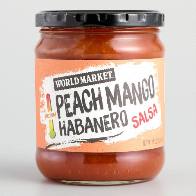 World Market® Peach and Mango Habanero Salsa