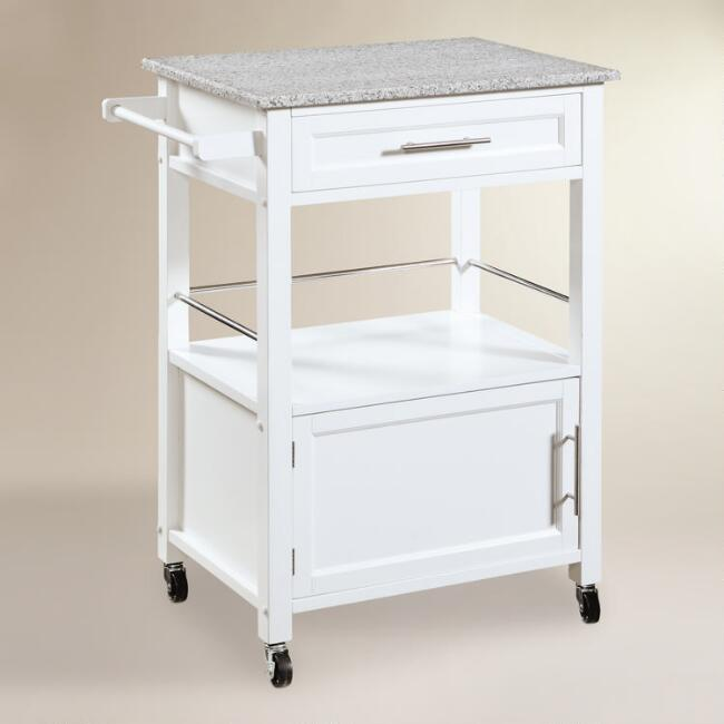 Granite Top Ade Kitchen Cart | World Market
