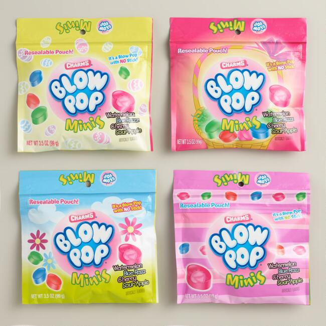 Charms Mini Blow Pop Candies, Set of 4